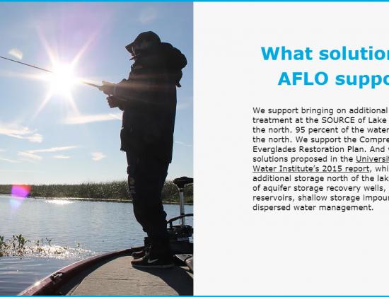 Anglers for Lake Okeechobee